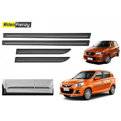 Buy Maruti Alto K10 Black Chromed Side beading at low prices-RideoFrenzy
