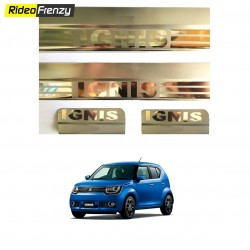 Maruti Ignis Stainless Steel Door Scuff Sill Plates