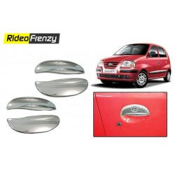 Buy Santro Xing Door Chrome Handle Covers at low prices-RideoFrenzy
