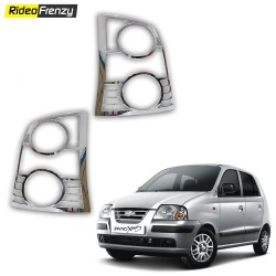 Buy Hyundai Santro Chrome Tail Light Covers at low prices-RideoFrenzy