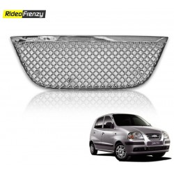 Buy Hyundai Santro Xing Front Chrome Grill Covers at low prices-RideoFrenzy