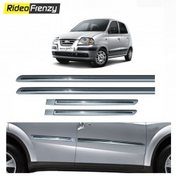 Buy Hyundai Santro xing Silver Chromed Side Beading at low prices-RideoFrenzy
