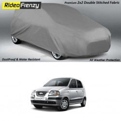 Buy Heavy Duty Double Stitched Hyundai Santro Body Cover at low prices-RideoFrenzy