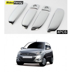 Buy Hyundai I10 Door Chrome Handle Covers at low prices-RideoFrenzy