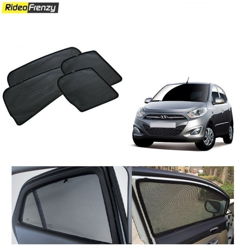 Buy Hyundai i10 Magnetic Car Window Sunshade at low prices-RideoFrenzy