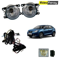 Buy New Maruti Baleno Fog Lamp Kit with Wiring at low prices-RideoFrenzy
