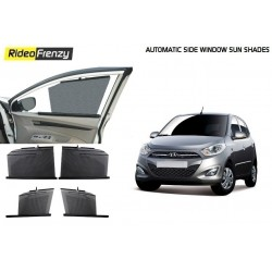 Buy Hyundai i10 Automatic Side Window Sun Shade at low prices-RideoFrenzy