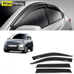 Buy Unbreakable Hyundai i10 Door Visors in ABS Plastic at low prices-RideoFrenzy