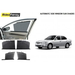 Buy Hyundai Accent Automatic Side Window Sun Shade at low prices-RideoFrenzy