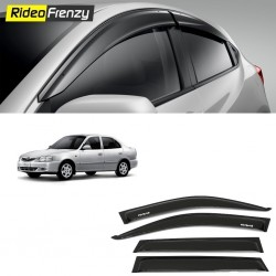 Buy Unbreakable Hyundai Accent Door Visors in ABS Plastic at low prices-RideoFrenzy