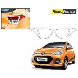 Buy Hyundai GRAND I10 Chrome Tail Light Covers at low prices-RideoFrenzy