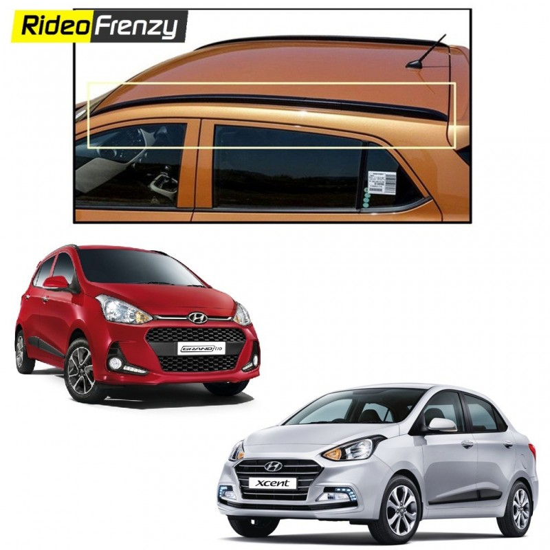 Buy Hyundai Grand i10 & Xcent Roof Rails-Original OEM in ABS at low prices-RideoFrenzy