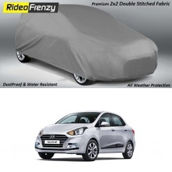 Buy Heavy Duty Hyundai Xcent Body Cover online at low prices-RideoFrenzy