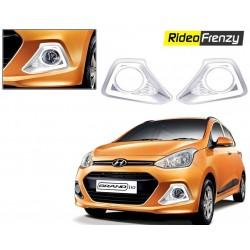 Hyundai Grand i10 Chrome Fog Lamp Covers