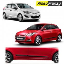 Buy Original Hyundai i20 & Elite i20 Matt Black Side Beading at low prices-RideoFrenzy