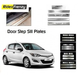 Buy Hyundai i20 Stainless Steel Door Scuff Sill Plates at low prices-RideoFrenzy