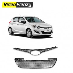 Buy Premium Quality Hyundai i20 Front Chrome Grill Covers at low prices-RideoFrenzy