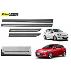 Buy Hyundai i20 & Elite i20 Black Chromed Side beading at low prices-RideoFrenzy