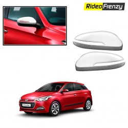 Buy Triple Layered Hyundai Elite i20 Chrome Mirror Covers at low prices-RideoFrenzy