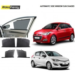 Buy Hyundai i20 & Elite i20 Automatic Side Window Sun Shades at low prices-RideoFrenzy