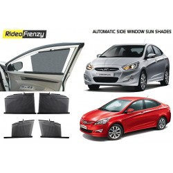 Hyundai Verna Automatic Side Window Sun Shades