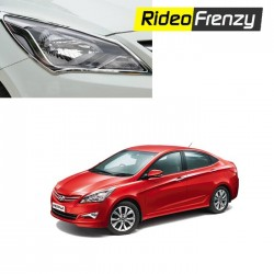 Buy Premium Quality Hyundai Verna Fluidic Chrome HeadLights at low prices-RideoFrenzy