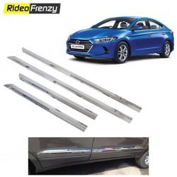 Buy Triple layer Hyundai Elantra Chrome Side Beading at low prices-RideoFrenzy