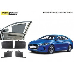 Buy Hyundai Elantra Automatic Side Window Sun Shades at low prices-RideoFrenzy
