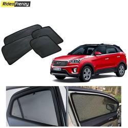Buy Hyundai Creta Magnetic Window Sunshades at low prices-RideoFrenzy