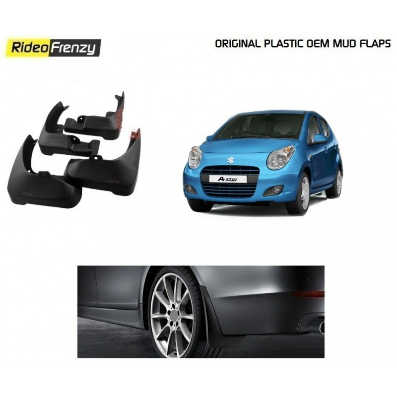 Buy Plastic OEM Maruti A-Star Mud Flaps at low prices-RideoFrenzy