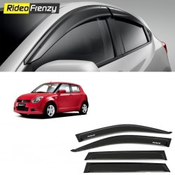 Unbreakable Old Model Maruti Swift Door Visors in ABS Plastic-RideoFrenzy