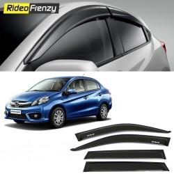 Buy Unbreakable Honda Amaze Door Visors in ABS Plastic at low prices-RideoFrenzy