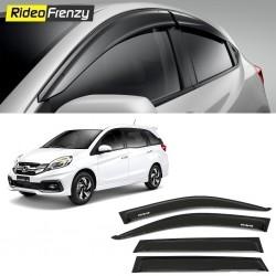 Buy Unbreakable Honda Mobilio Door Visors in ABS Plastic at low prices-RideoFrenzy
