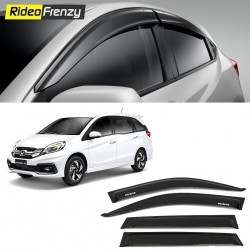 Buy Unbreakable Honda Mobilio Door Visors in ABS Plastic at low prices-RideoFrenzy