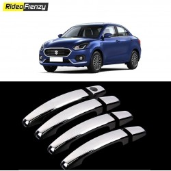 Buy New Maruti Dzire 2017 Chrome Handle Covers at Low prices-RideoFrenzy