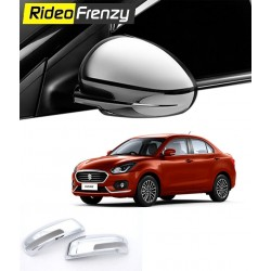 Buy New Maruti Dzire 2017 Chrome Mirror Covers at Low prices-RideoFrenzy
