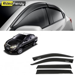 Buy Unbreakable Tata Manza Door Visors in ABS Plastic at low prices-RideoFrenzy