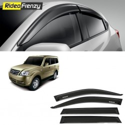 Buy Unbreakable Tata Sumo Grande Door Visors in ABS Plastic at low prices-RideoFrenzy