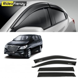 Buy Unbreakable Toyota Innova Door Visors in ABS Plastic at low prices-RideoFrenzy