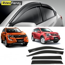 Buy Unbreakable Mahindra XUV500 Door Visors in ABS Plastic at low prices-RideoFrenzy