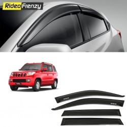 Buy Unbreakable Mahindra TUV300 Door Visors in ABS Plastic at low prices-RideoFrenzy