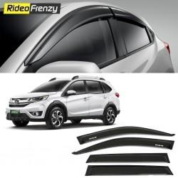 Buy Unbreakable Honda BRV Door Visors in ABS Plastic at low prices-RideoFrenzy