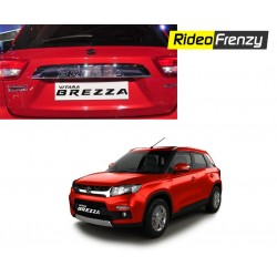 Vitara Brezza Rear Lisence Plate Emblem Garnish