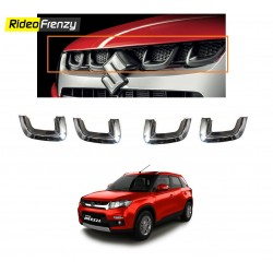 Vitara Brezza Original OEM Front Chrome Grill U Garnish