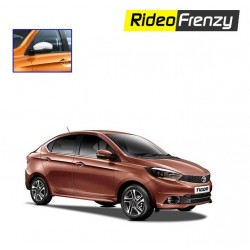 Buy Triple layer Tata Tigor Chrome Side Mirror Covers at low prices-RideoFrenzy