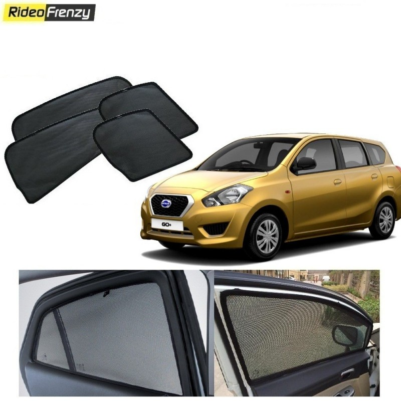 Buy Datsun Go Plus Magnetic Car Window Sunshades at low prices-RideoFrenzy