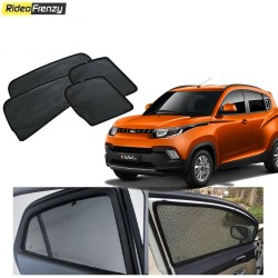 Buy Mahindra KUV100 Magnetic Car Window Sunshades at low prices-RideoFrenzy