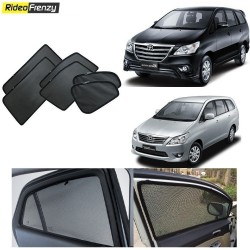 Buy Toyota Innova Magnetic Car Window Sunshades-6 pcs at low prices-RideoFrenzy