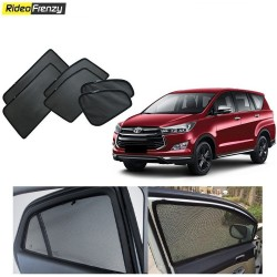 Buy Toyota Innova Crysta Magnetic Car Window Sunshades at low prices-RideoFrenzy