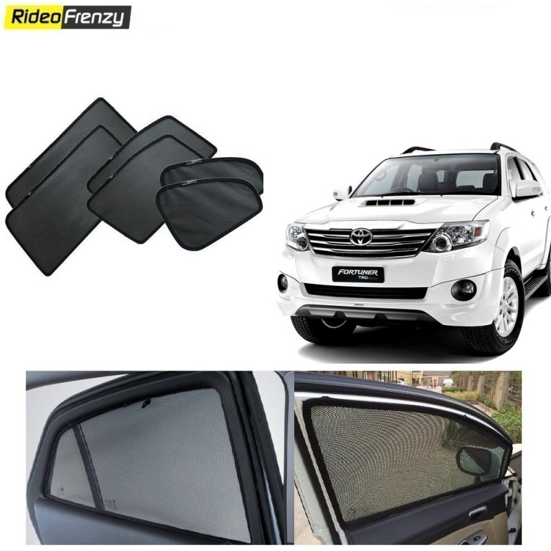 Buy Toyota Fortuner Magnetic Car Window Sunshade at low prices-RideoFrenzy